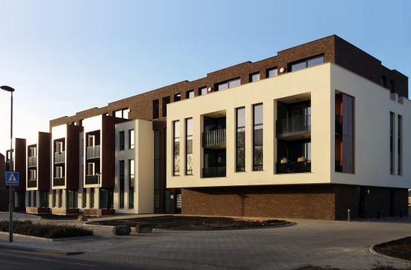 Appartementengebouw Kampstraat