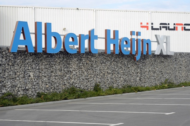 Terreininrichting Albert Heijn XL