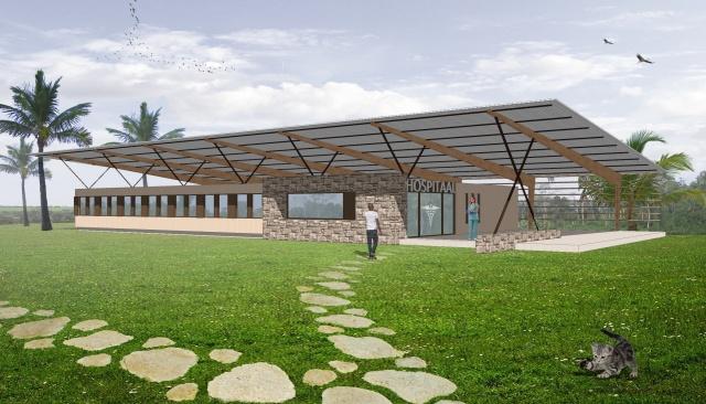 Demontabel modulair hospitaal