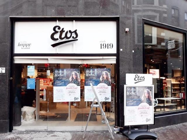 Renovaties drogisterij Etos