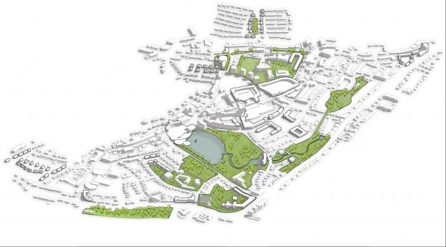 Bruisend Brunssum | Masterplan & beeldkwaliteitsplannen