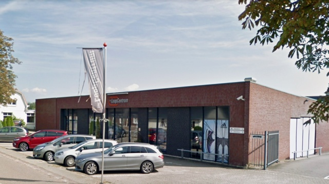 Uitbreiding showroom Canjels